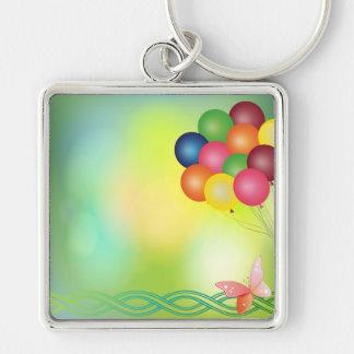 Blur balloons keychain