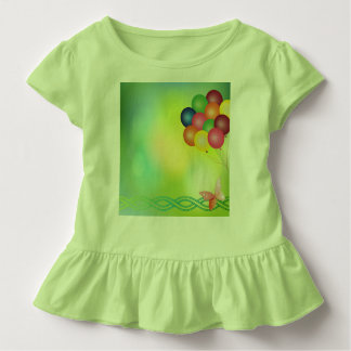 Blur greeting card with balloons toddler t-shirt