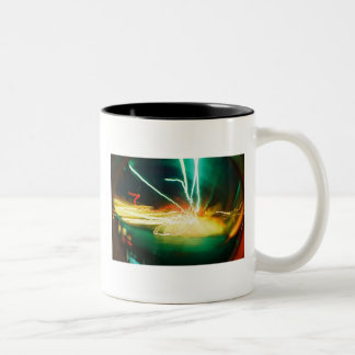 Blur Two-Tone Coffee Mug