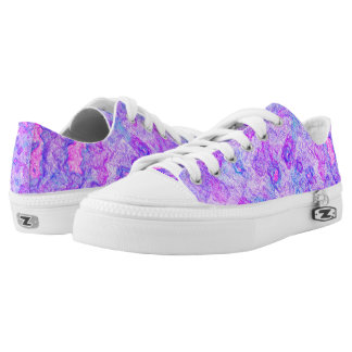 Blurple Swirl Low-Top Sneakers