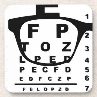 Blurr Eye Test Chart Coaster