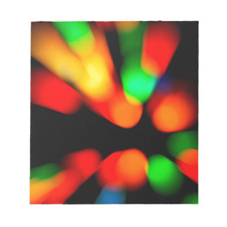Blurred color background notepad