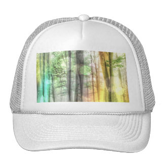Blurred Forest Trucker Hat