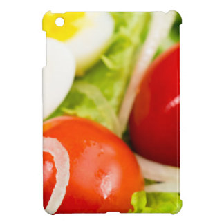 Blurred image of cherry tomatoes in a salad iPad mini covers