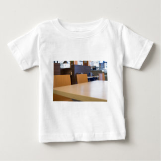 Blurred image of the interior cafe baby T-Shirt