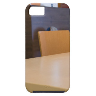 Blurred image of the interior cafe case for the iPhone 5