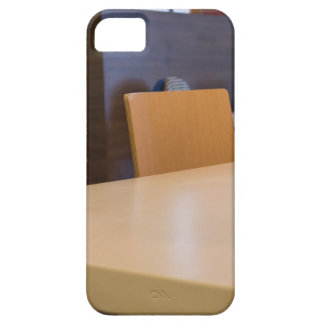 Blurred image of the interior cafe iPhone 5 case