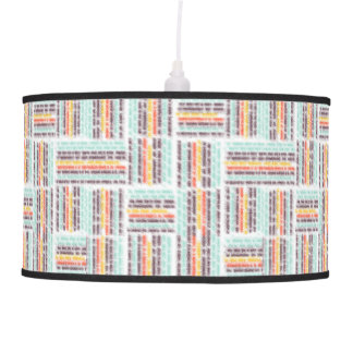Blurred lines ceiling lamp