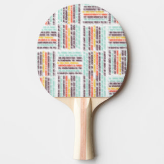Blurred lines Ping-Pong paddle