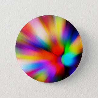 Blurred multi color lights 2 inch round button