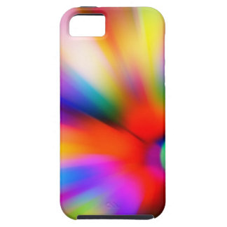Blurred multi color lights case for the iPhone 5