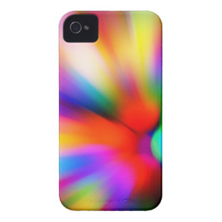 Blurred multi color lights iPhone 4 cover
