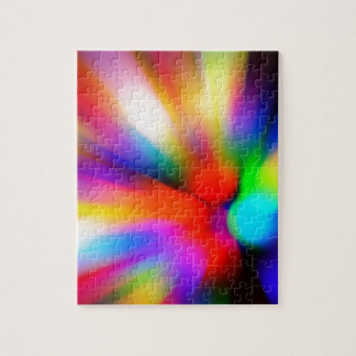 Blurred multi color lights jigsaw puzzle