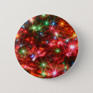 Blurred sparkling lights background 2 inch round button