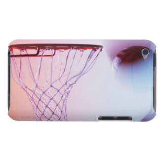 Blurred view of basketball going into hoop iPod touch Case-Mate case