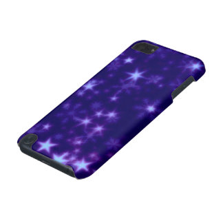 Blurry Stars blue iPod Touch (5th Generation) Case