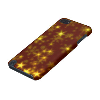 Blurry Stars golden iPod Touch (5th Generation) Cover