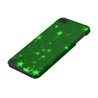 Blurry Stars green iPod Touch (5th Generation) Cover