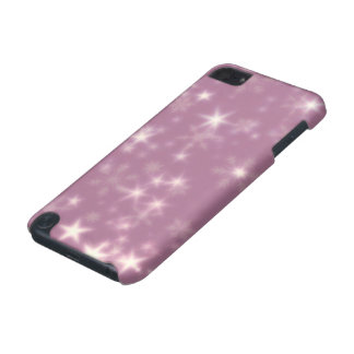 Blurry Stars lilac iPod Touch (5th Generation) Case