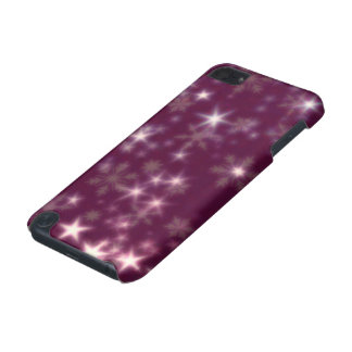 Blurry Stars plum iPod Touch (5th Generation) Cases