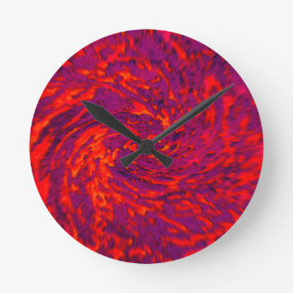 Blurry Swirl Clock