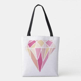 Blush and bashful tote bag