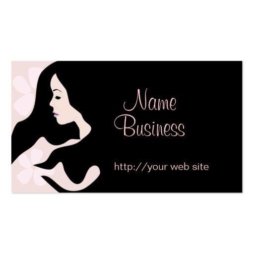 Blush Beauty Business Card