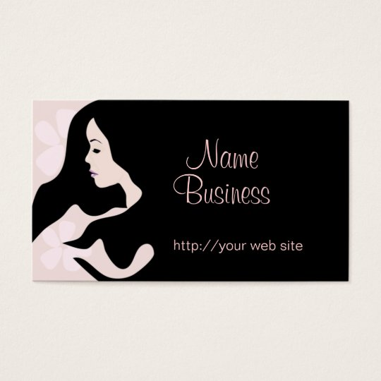 Blush Beauty Business Card