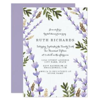 "Blush Bouquet Bridal Shower 5"" X 7"" Invitation Card"