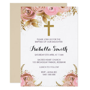 christening baptism invitations zazzle ca