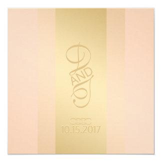 Blush Gold Invitation