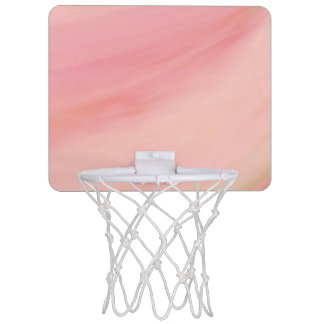 Blush Mini Basketball Hoop