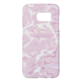 blush pink abstract paint samsung galaxy s7 case
