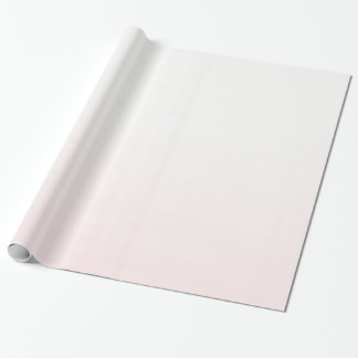Blush Pink Ombre Wrapping Paper