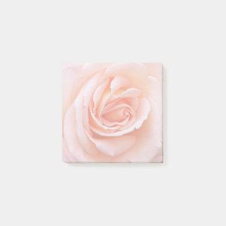 Blush Pink Rose Floral Post-it Notes