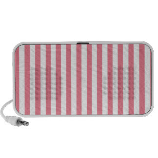 Blush Pink Stripes; Striped Notebook Speakers