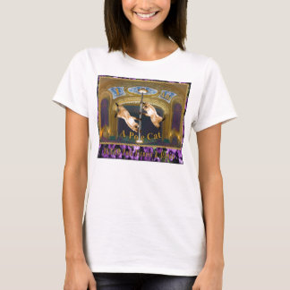 Blush Pole Fitness & Dance Pole Cat T-Shirt