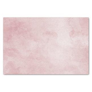 Blush & Rose Gold Framed Floral Watercolor Wedding Tissue Paper