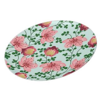 Blush Vines Plate