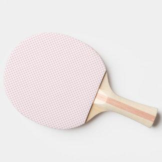 Blushing Bride Polka Dots Ping Pong Paddle