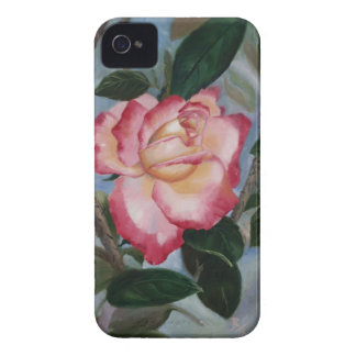 Blushing Delight Rose BlackBerry Bold Case