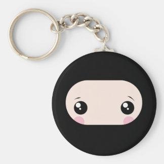 Blushing Kawaii Ninja Keychain