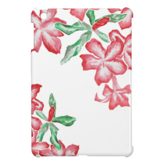 Blushing Red Flowers Case For The iPad Mini