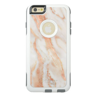 Blushing Rose Feminine Marble Pattern OtterBox iPhone 6/6s Plus Case