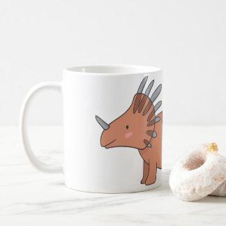 Blushing Styracosaurus Mug