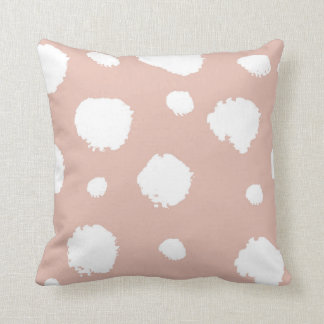 Blushing Throw Pillow