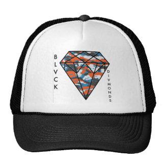 BLVCK DIVMONDS - Orange Camo Trucker Hat