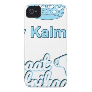 Bly-Kalm-En-Praat-Afrikaans iPhone 4 Case
