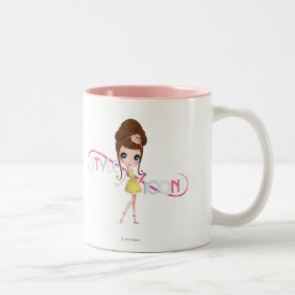Blyhe: Style Icon Two-Tone Coffee Mug