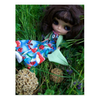 Blythe and the Mushrooms II Postcard